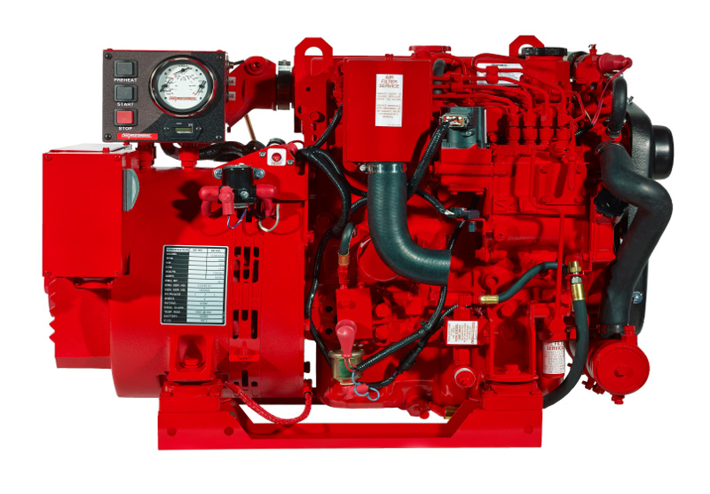 Kompletely Kustom Marine Westerbeke Diesel Generator